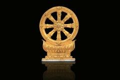 Goldener Rowel Stockbild