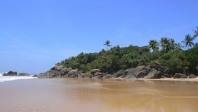Goldener Sand Lizenzfreies Stockfoto