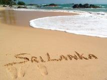 Goldener Sand Lizenzfreies Stockbild