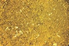 Goldener Sandhintergrund Stockfoto