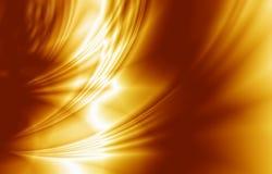 Goldener Satin, Seide, eleganter Hintergrund lizenzfreie abbildung