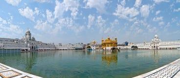 Goldener Sikhtempel Stockbild