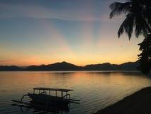 Goldener Sonnenaufgang Lizenzfreies Stockbild