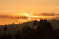 Goldener Sonnenaufgang, Sri Lanka lizenzfreie stockfotografie