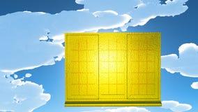 Goldener Spielraum Lizenzfreie Stockfotos