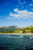 Goldener Strand, Thassos-Insel, Griechenland. Stockfotos