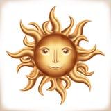 Goldener Sun Lizenzfreie Stockfotos