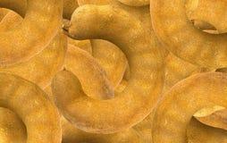 Goldener Tamarindensamen Stockfotos