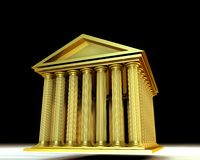 Goldener Tempel Stockfoto