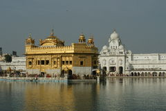 Goldener Tempel in Amritsar Stockbild