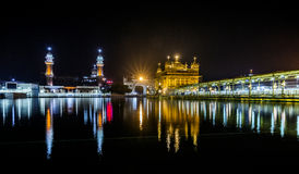 Goldener Tempel, Amritsar, Punjab, Indien Lizenzfreie Stockbilder