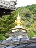 Goldener Tempel in Kjoto stockfotos