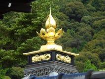 Goldener Tempel in Kjoto stockbilder