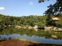 Goldener Tempel in Kyoto Stockfoto