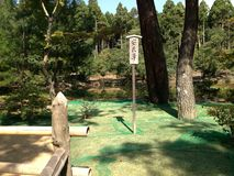 Goldener Tempel in Kyoto, Park Stockfotos