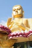 Goldener Tempel Sri Lanka Dambulla Lizenzfreies Stockfoto