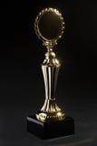 Goldener Trophäepreis Lizenzfreies Stockbild