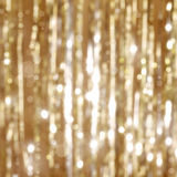 Goldener Weihnachtshintergrund Stockfoto