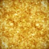 Goldener Weihnachtshintergrund Lizenzfreies Stockfoto