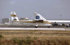 Goldener Westfluglinien-De Havilland-Zwillings-Otter DHC-6-200 lizenzfreies stockfoto