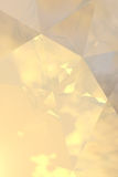 Goldenes abstraktes Hintergrund-Vertikales Lizenzfreies Stockbild
