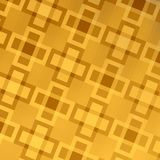 Goldenes abstraktes Netz-Hintergrund-Design - Muster Stockfotos