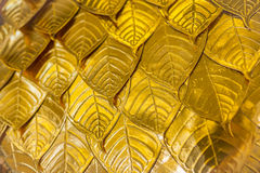 Goldenes Blatt Lizenzfreie Stockbilder
