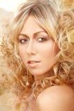 Goldenes blondes Lizenzfreie Stockfotografie