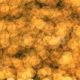 Goldenes bokeh als Hintergrund Stockbild