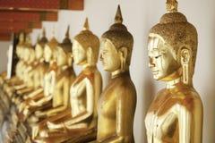 Goldenes Budas stockbild