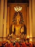 Goldenes Buddha-Bild stockbilder