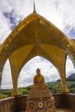 Goldenes Buddha-Bild Lizenzfreie Stockfotografie