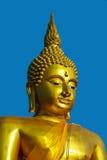 Goldenes Buddha-Gesicht Lizenzfreies Stockfoto