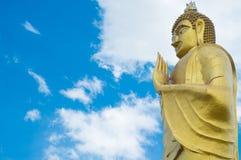 Goldenes Budha Stockbilder