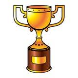 Goldenes Cup Stockbild