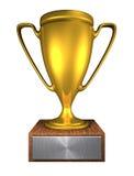 Goldenes Cup B Stockfotografie