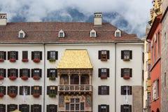 Goldenes Dach Lizenzfreie Stockbilder