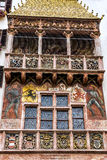 The Goldenes Dachl (Golden Roof) in the Old Town of Innsbruck, Austria. Stock Photo
