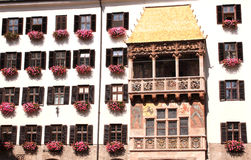 Goldenes Dachl in Innsbruck. Golden roof in Innsbruck, Austria Stock Images