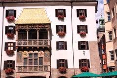 Goldenes Dachl in Innsbruck Stock Image