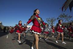 115. goldenes Dragon Parade, Chinesisches Neujahrsfest, 2014, Jahr des Pferds, Los Angeles, Kalifornien, USA Stockfoto