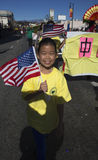 115. goldenes Dragon Parade, Chinesisches Neujahrsfest, 2014, Jahr des Pferds, Los Angeles, Kalifornien, USA Stockbild