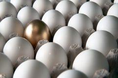 Goldenes Ei Stockbild