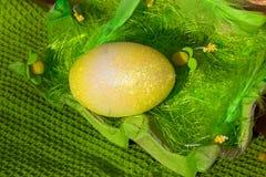 Goldenes Ei Stockbilder