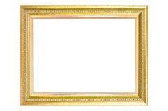 Goldenes Feld der Weinlese trennte. Stockbild