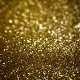 Goldenes Funkeln Lizenzfreie Stockfotografie