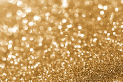 Goldenes Funkeln Lizenzfreie Stockbilder