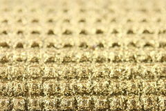 Goldenes Funkeln Stockfoto