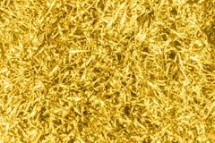Goldenes Funkeln reflektiert reiches Luxusteures für Hintergrund Lizenzfreie Stockfotos
