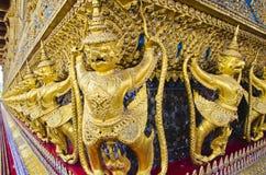 Goldenes Garuda stockbild